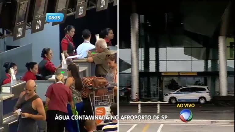 Água do Aeroporto Internacional de Guarulhos pode estar ...