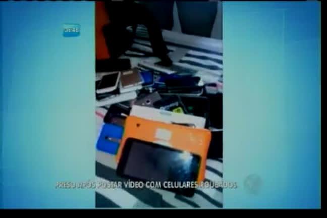 Homem é preso após postar vídeo com celulares roubados - Bahia ...