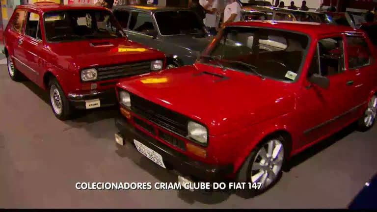 Colecionadores criam clube do Fiat 147 - Minas Gerais - R7 ...