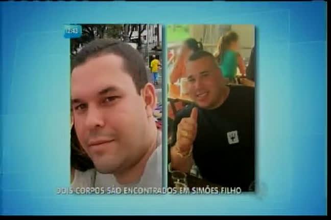 Dois corpos são encontrados em Simões Filho - Bahia - R7 Balanço ...