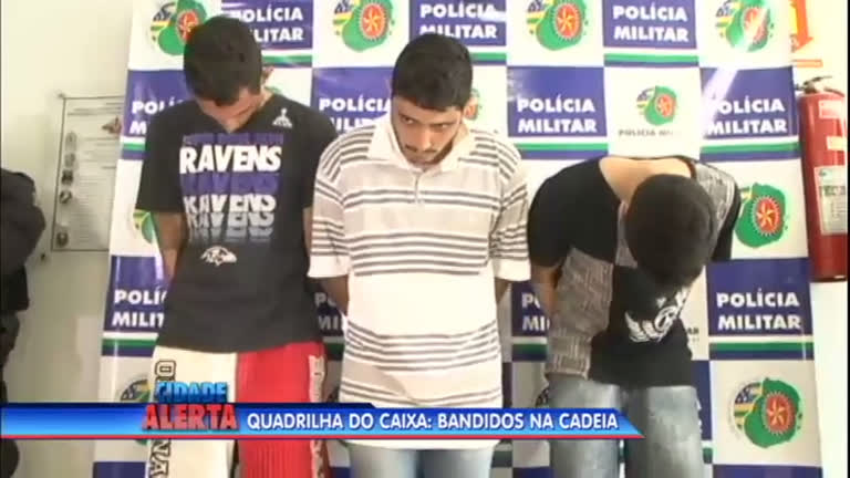 Quadrilha de roubo a banco é presa em Goiânia - Notícias - R7 ...