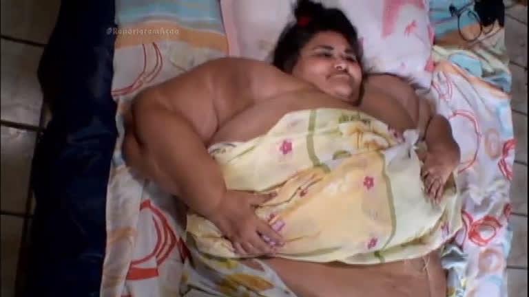 Mulher mais gorda do Brasil pesa 360 quilos - Notícias - R7 ...