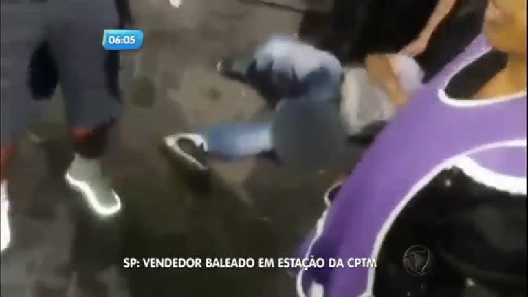 Vendedor ambulante é baleado em estação da CPTM, em Mauá ( SP)