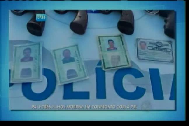 Quatro da mesma família morrem em troca de tiros - Bahia - R7 ...
