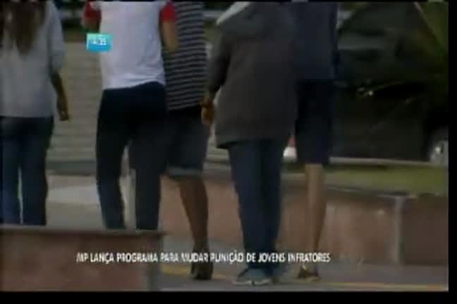 MP lança programa para mudar punição de infratores - Bahia - R7 ...