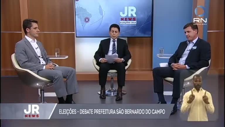 JR News recebe os candidatos para o segundo turno de São ...