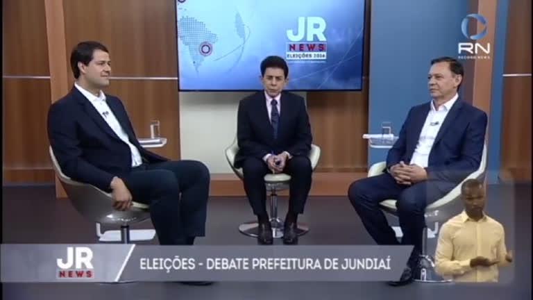 JR Newsrecebe os candidatos para o segundo turno de Jundiaí