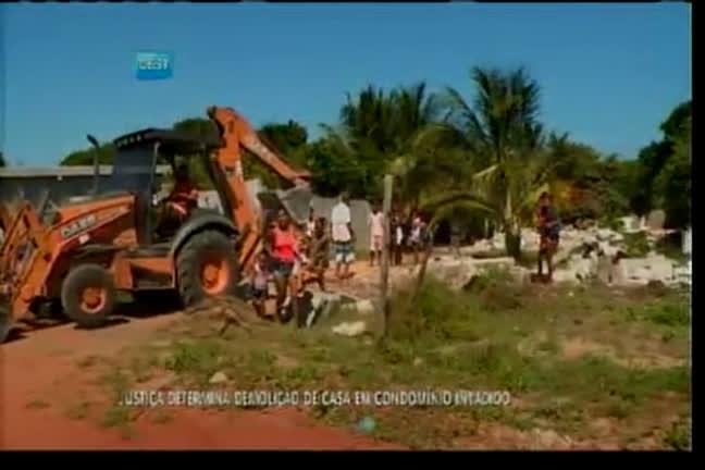 Justiça determina demolição de casas em Arembepe - Bahia - R7 ...