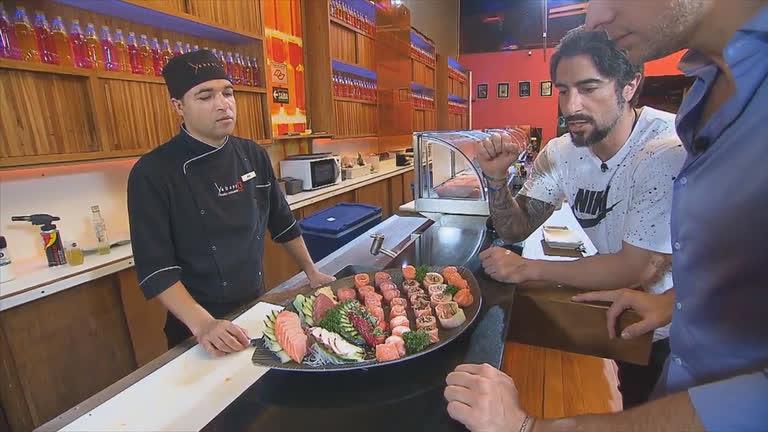 Fernando Scherer mostra dieta de Marcos Mion no Esporte…