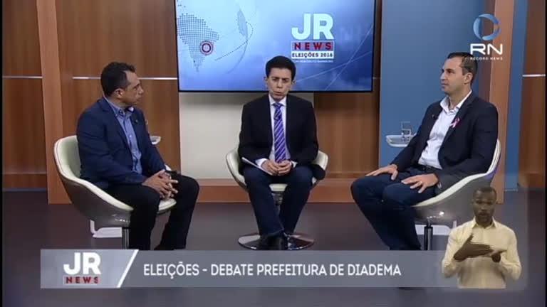 Candidatos à prefeitura de Diadema participam de sabatina no JR News