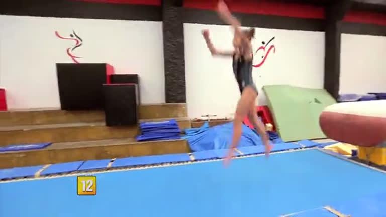 Marcos Mion dá Um Dia Inesquecível à promessa da ginástica brasileira