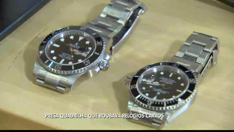 6472bf2dbab Polícia prende quadrilha paulista que roubava relógio em BH - Minas Gerais  - R7 MG Record