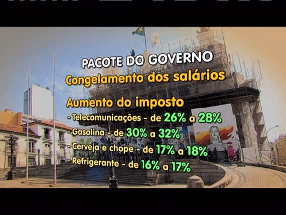 Deputados discutem seis medidas do pacote do Governo nesta terça-feira (22)e servidores protestam