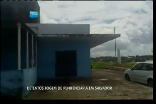 Detentos fogem de penitenciária de Salvador