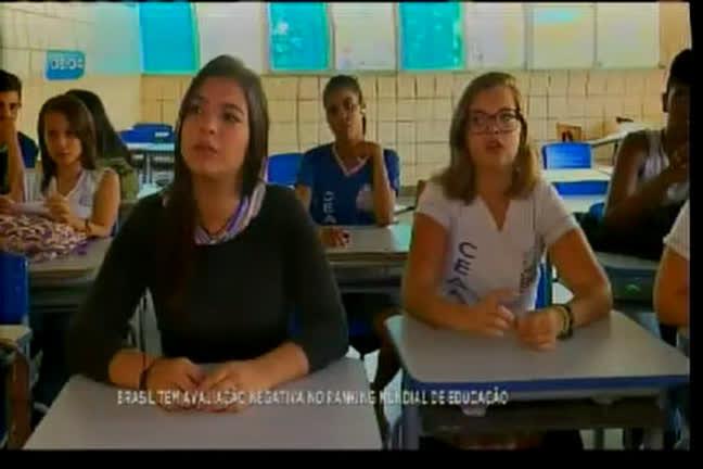 Brasil cai em ranking mundial de educação