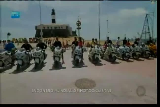Encontro mundial de motocicletas