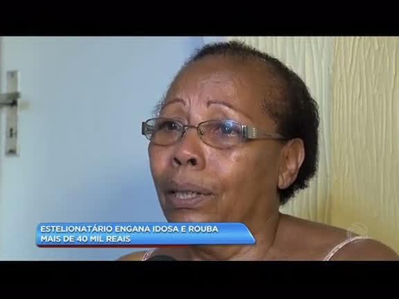 Estelionatário engana idosa e rouba mais de R$ 40 mil