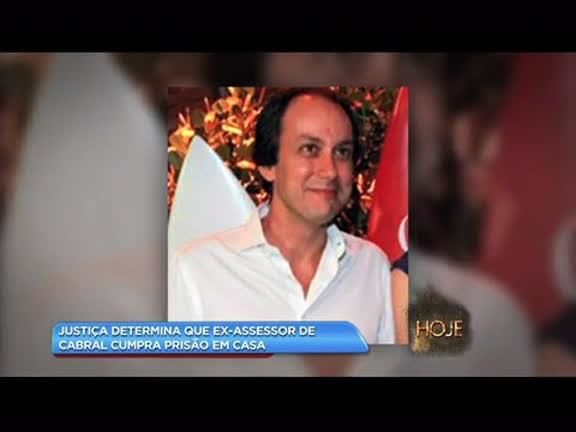 Justiça determina que ex-assessor de Cabral cumpra prisão em casa