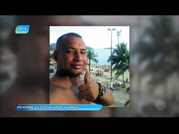 Policiais mortos: sargento morre ao tentar apartar uma briga…