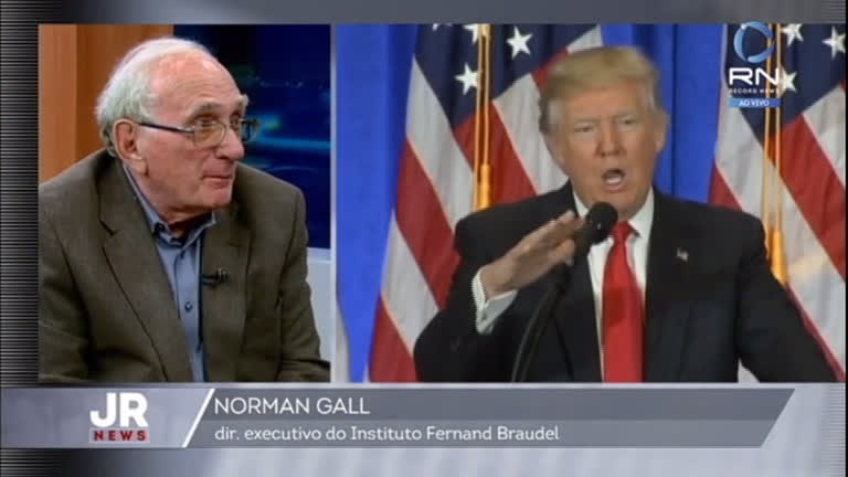 Professor Norman Gall diz quem realmente é Donald Trump