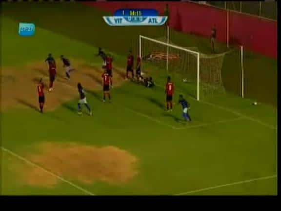 Vitória vence o Atlético de virada