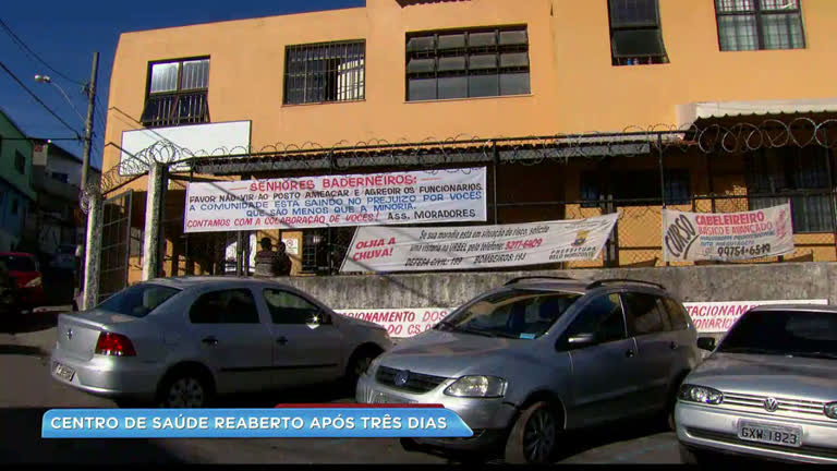 Centro de saúde na Vila Cafezal, em BH, volta a funcionar