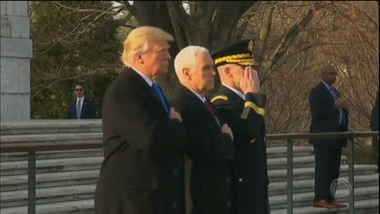 900 mil pessoas são esperadas para acompanhar a posse de Donald Trump