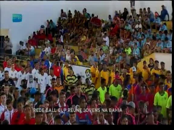 Rede Ball Cup reúne jovens na Bahia