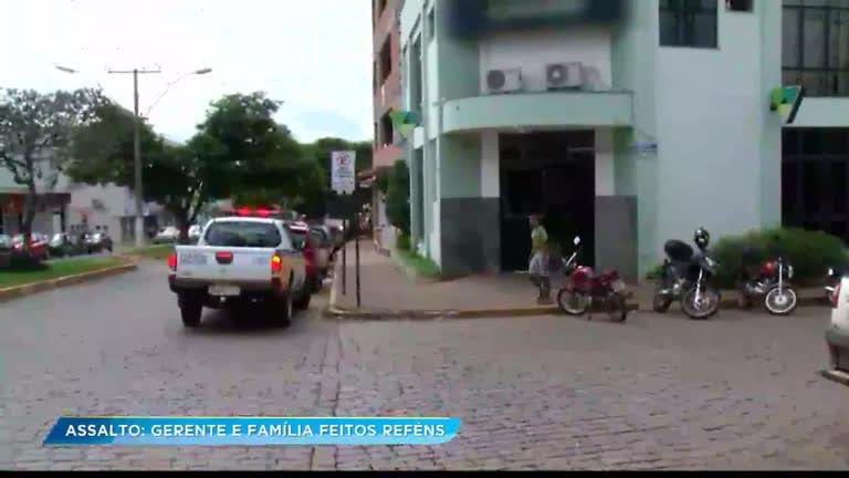 Criminosos roubam meio milhão de banco no sul de Minas