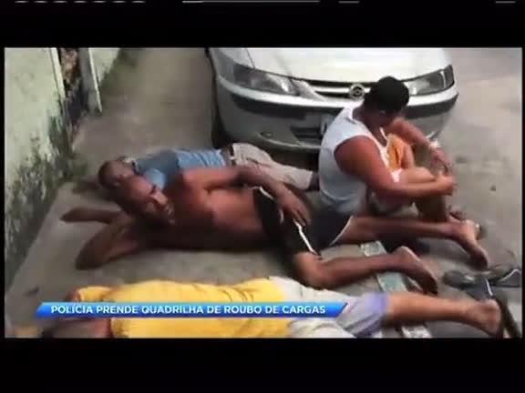 Polícia prende quadrilha de roubo de cargas em São Gonçalo