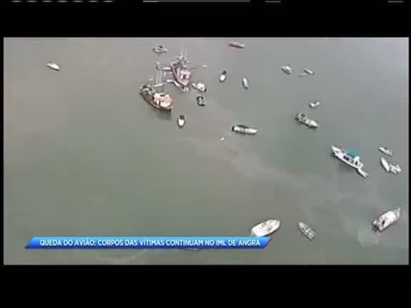 Queda de avião: corpos das vítimas continuam no IML de Angra