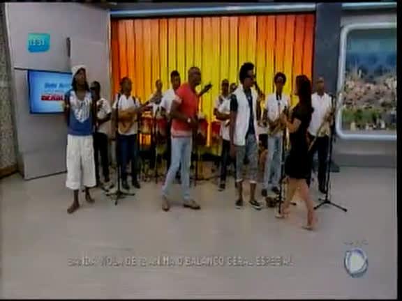 Banda Viola de 12 anima o Balanço Geral Especial