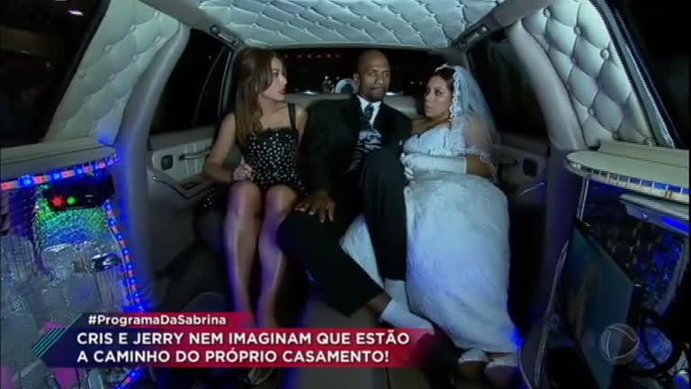 Sabrina realiza o sonho de um casal, que está junto há…