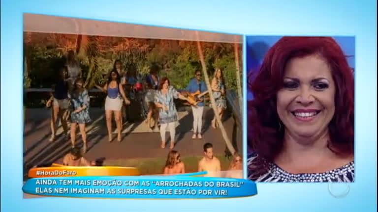 As Arrochadas do Brasil lançam clipe no palco do programa…