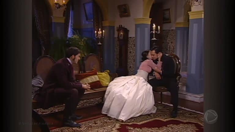 Henrique se comove e aceita o namoro entre Gabriel e Helena