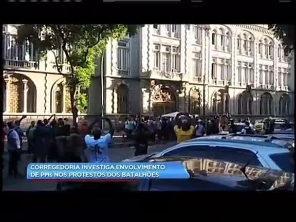 Corregedoria investiga envolvimento de PMs nos protestos dos batalhões