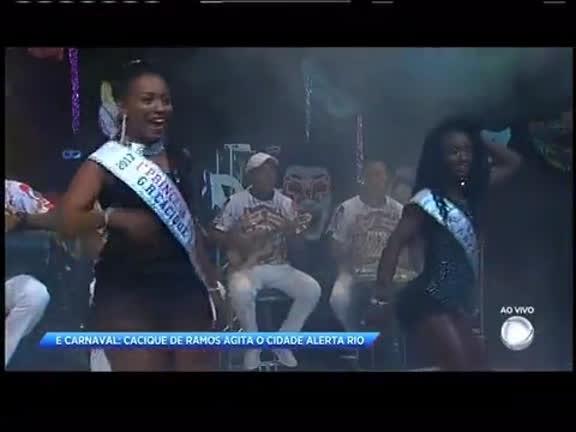 É Carnaval: Cacique de Ramos agita o Cidade Alerta Rio