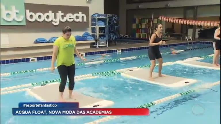 Conheça o Aqua Float, a nova moda das academias