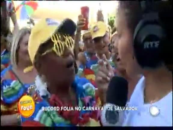 Record Folia no Carnaval de Salvador