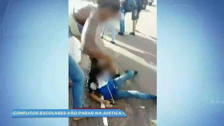 Média de 6 conflitos escolares vão parar na Justiça…