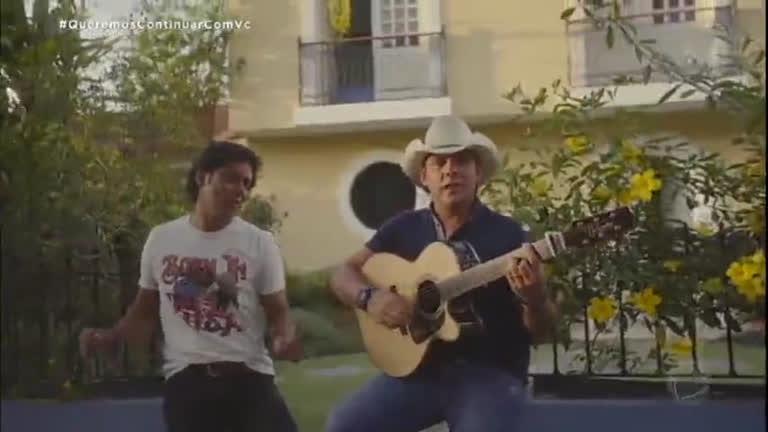 Exclusivo! Guilherme e Santiago lançam clipe de Casa Amarela no Programa da Sabrina