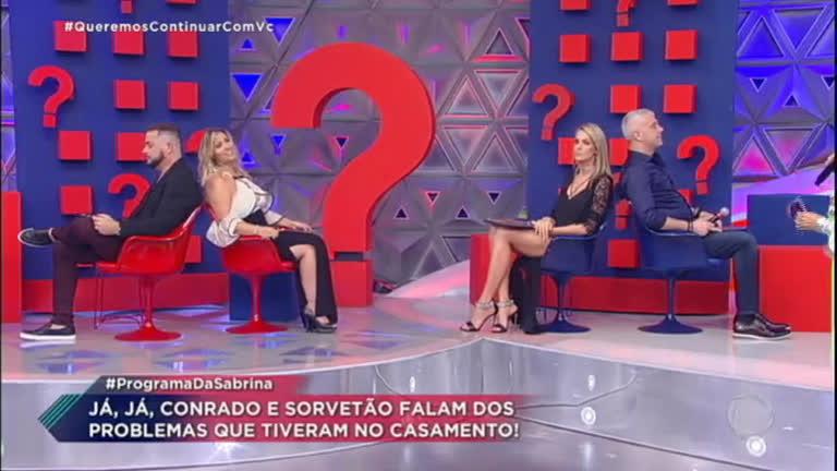 Ana Hickmann e Alexandre encaram game de casais com Sorvetão e Conrado