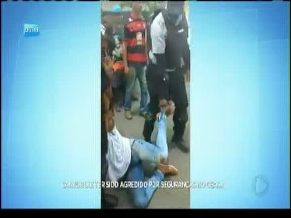 Cantor relata ter sido agredido por seguranças no Ceasa