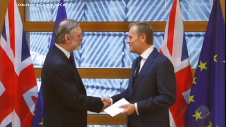 Reino Unido inicia processo de separação da União Europeia