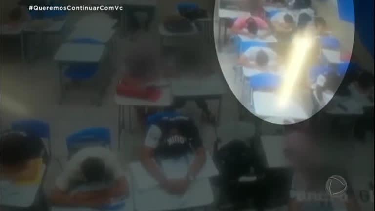 Polícia investiga arrastão dentro de escola em Goiânia