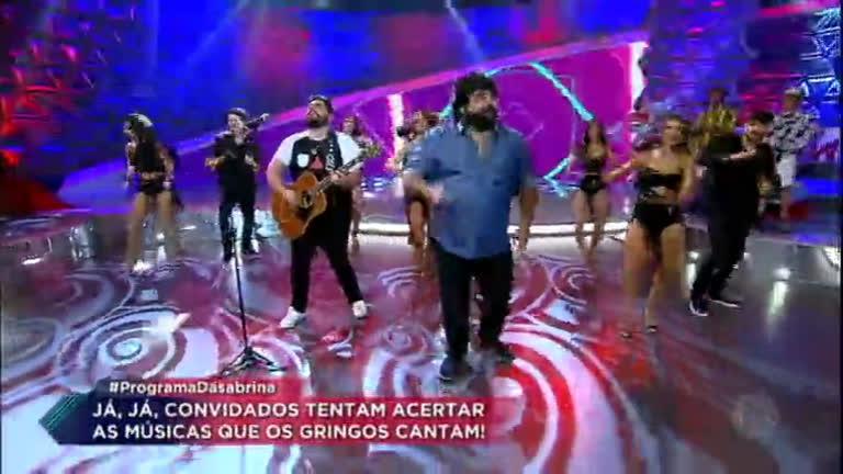 César Menotti e Fabiano empolgam a plateia ao som de Ciumenta…
