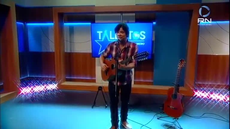 JR News Talentos recebe cantor Sapiranga