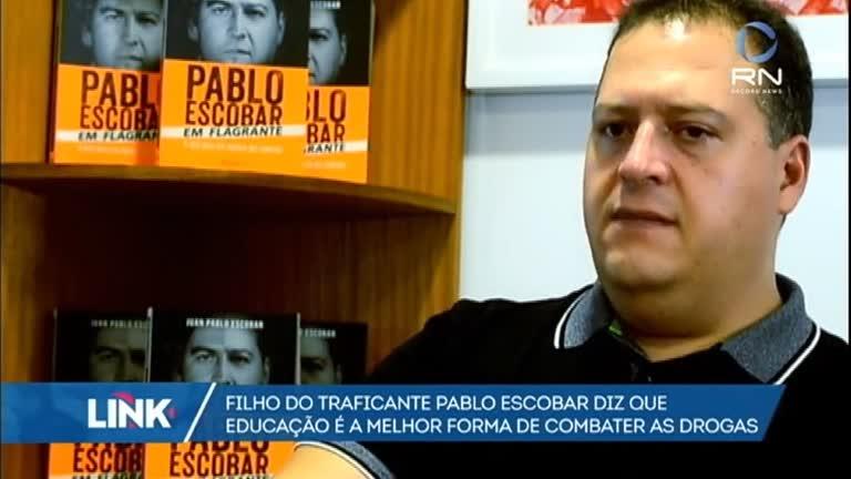 Filho de Pablo Escobar diz que educação é a melhor forma de…