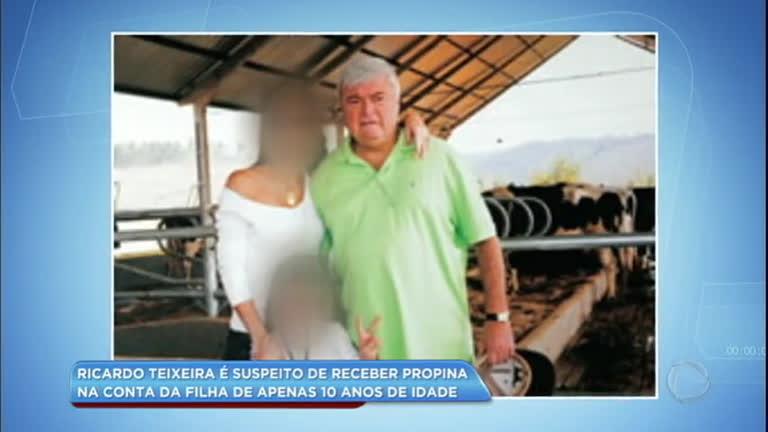 Ricardo Teixeira é acusado de receber propina na conta…