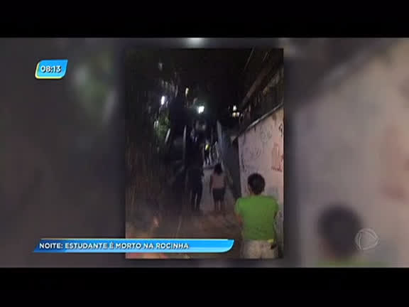 Estudante de 17 é morto na Rocinha